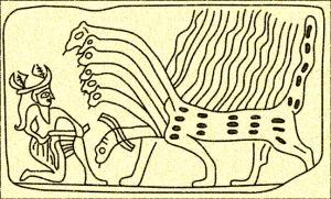 Marduk Battles Tiamat