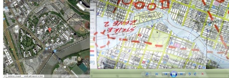 Marble Hill and Batman Rises map comparison