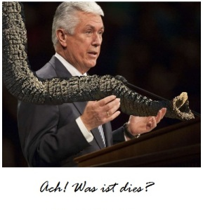 Elder Uchtdorf the Blind Man and the Elephant